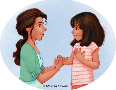 conversation with a child Sometimes as a result of therapy, our kids get really good at answering a  question when spoken to but not at initiating conversation.